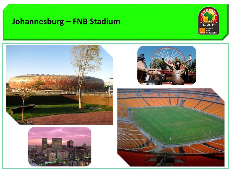 Johannesburg – FNB Stadium