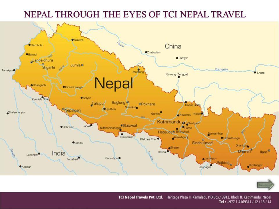 3 Hours drive West of Kathmandu.