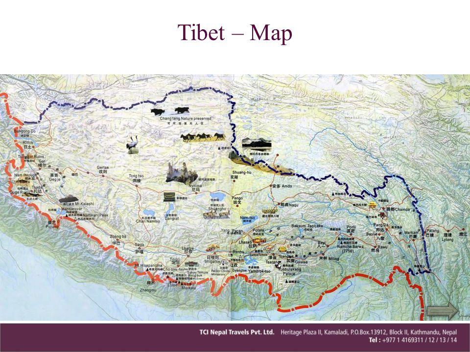 Tibet – Map