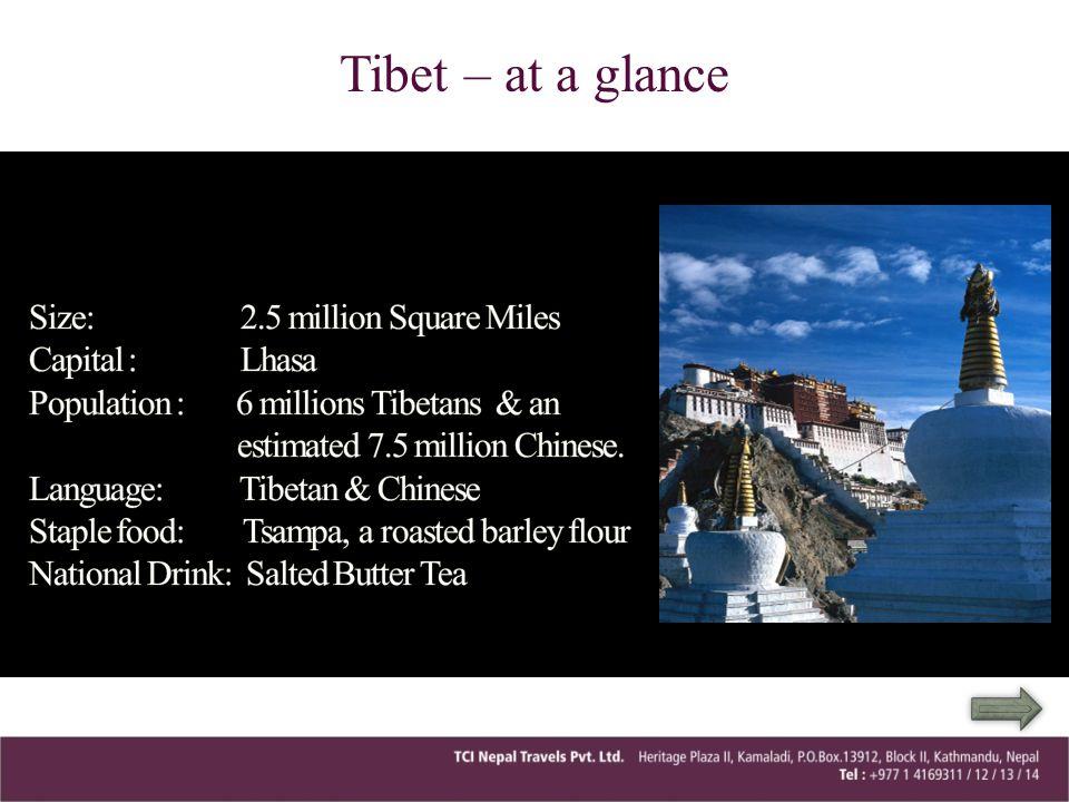 Tibet – at a glance