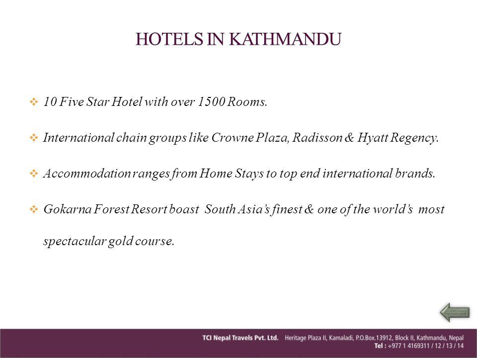 05 Nights Kathmandu & Chitwan Day 01 – Arrive Kathmandu.