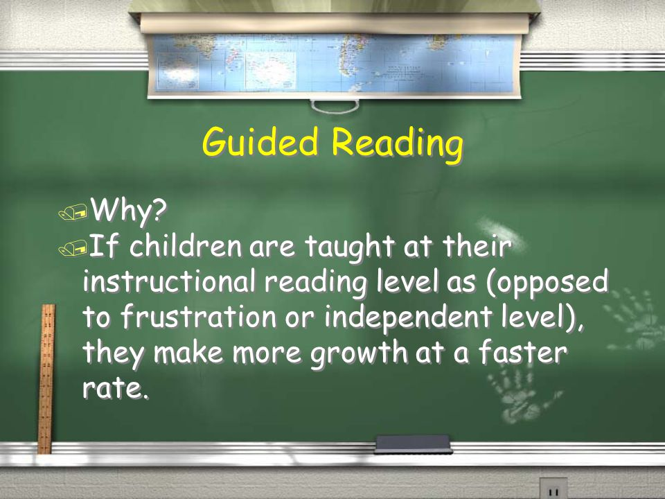 Guided Reading / Why.