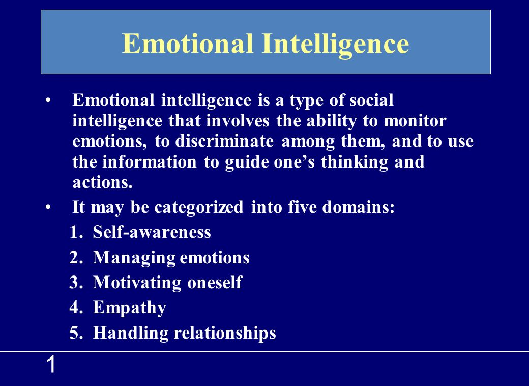 1 Healthy emotional life requires us to learn how to experience emotion and how to express feelings. Experiencing and Expressing Feelings