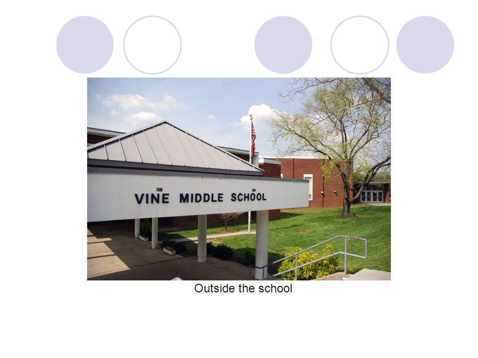 Vines school cafeteria where students eat lunch