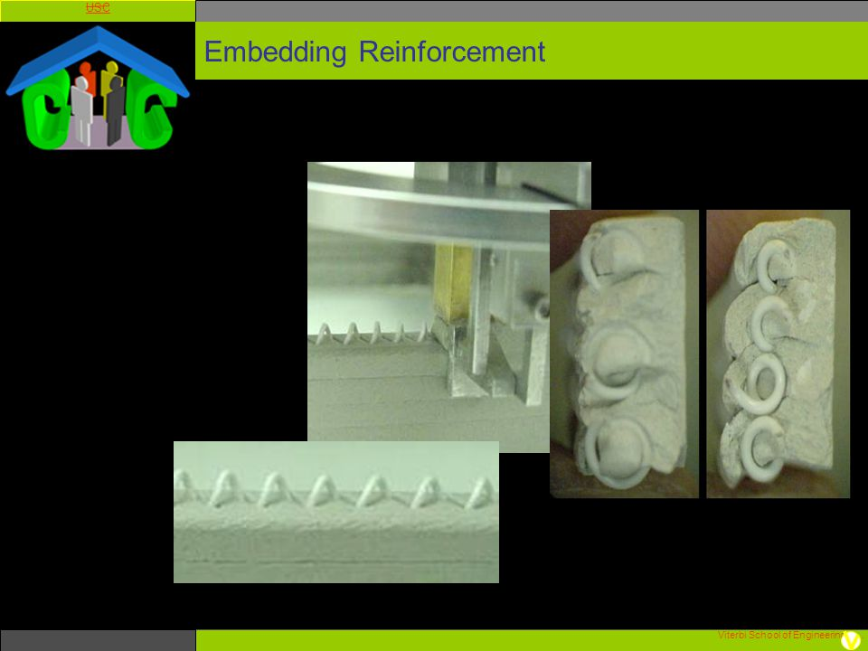 Viterbi School of Engineering. USC Embedding Reinforcement