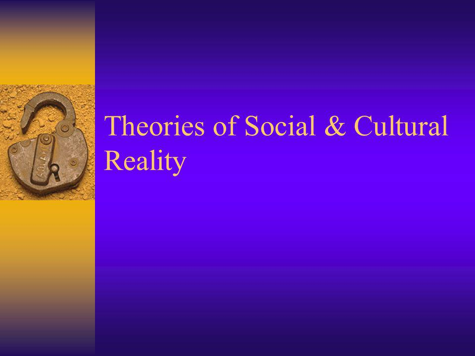Facticity of Objects Social constructivists do not deny that the locomotive exits.