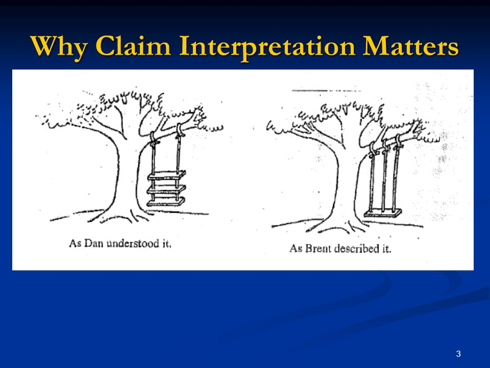 3 Why Claim Interpretation Matters