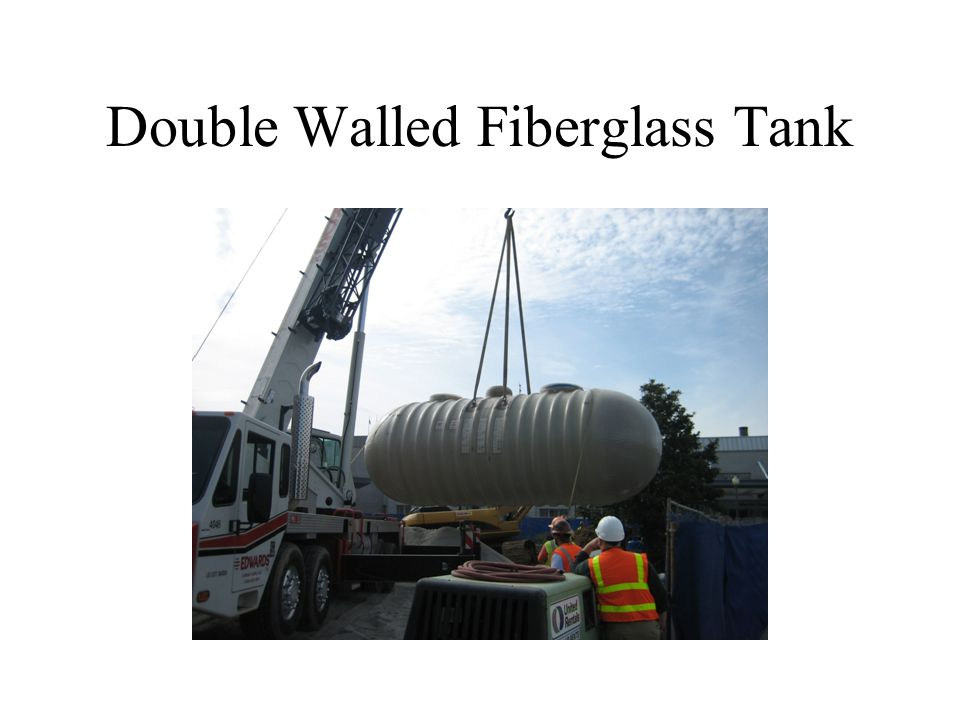 Double Walled Fiberglass Tank