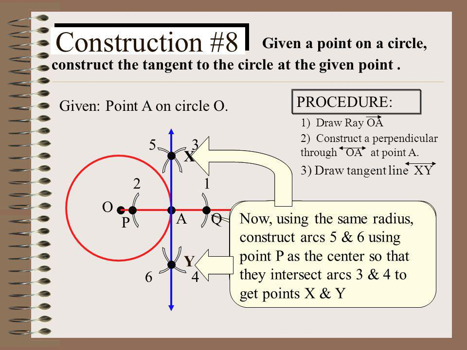 What are the 4 different types of concurrent lines for a triangle? I.Perpendicular bisectors II.Angle bisectors III.Altitudes IV.Medians Circumcenter