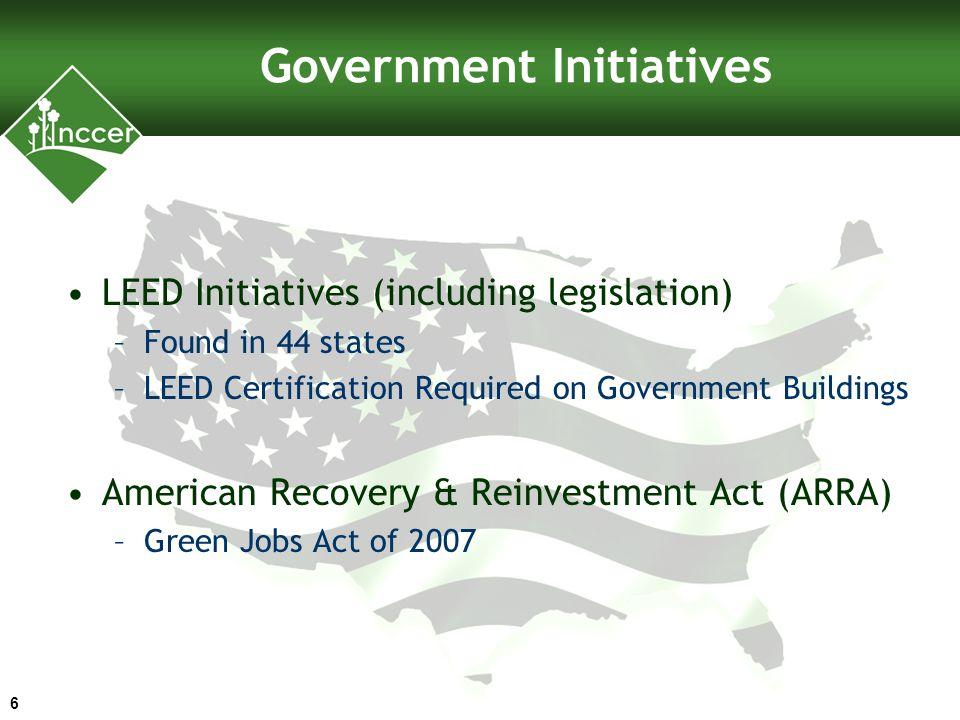 Employment & Training Administration Green Jobs Initiative 7