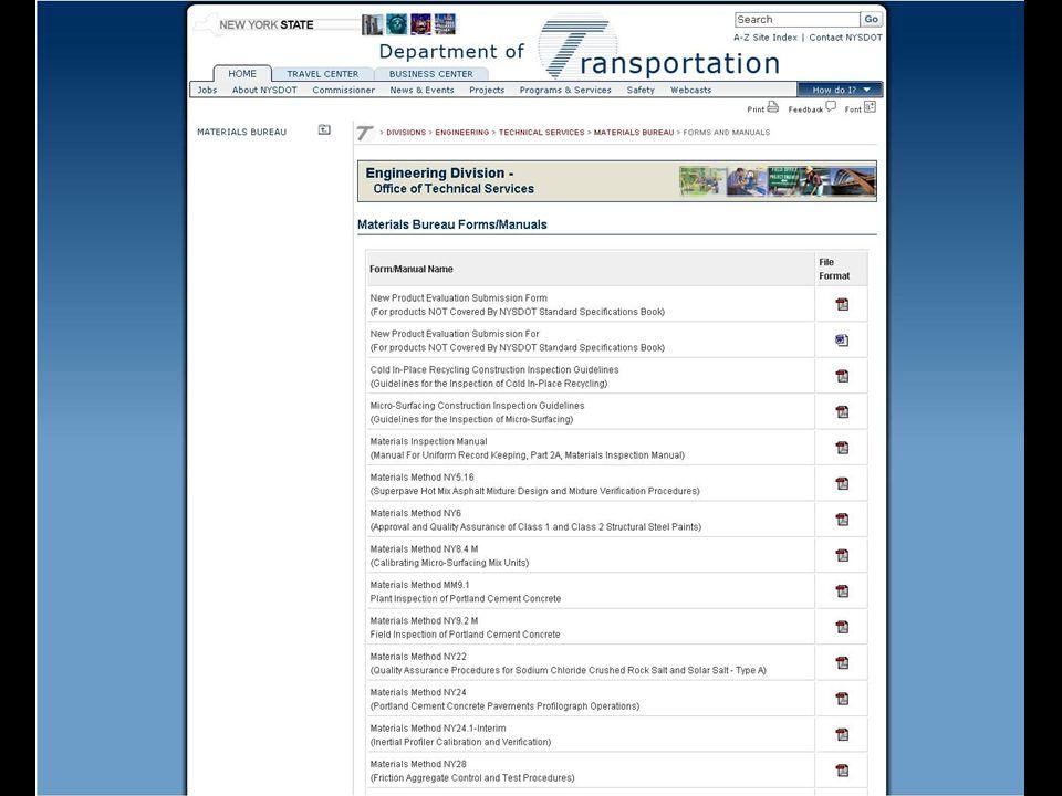 Field Inspection Certifications.