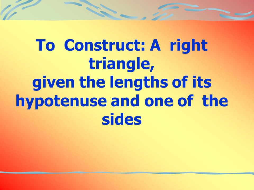 Given: The hypotenuse DF of a right triangle DEF is 4.2cm E=90 and EF=3.8cm