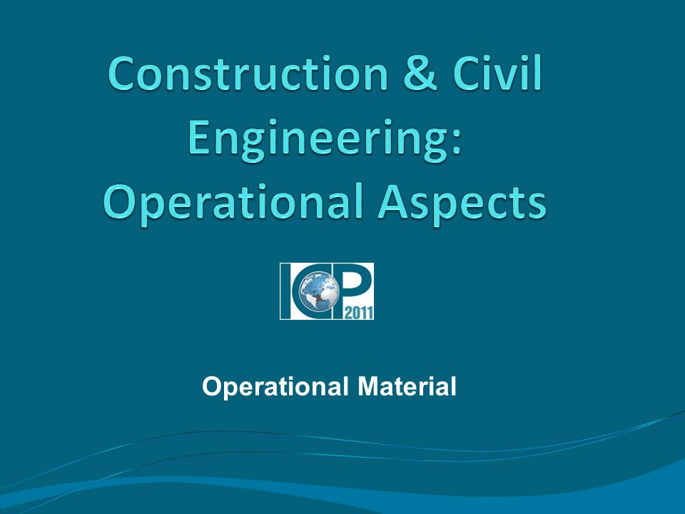 Operational Material
