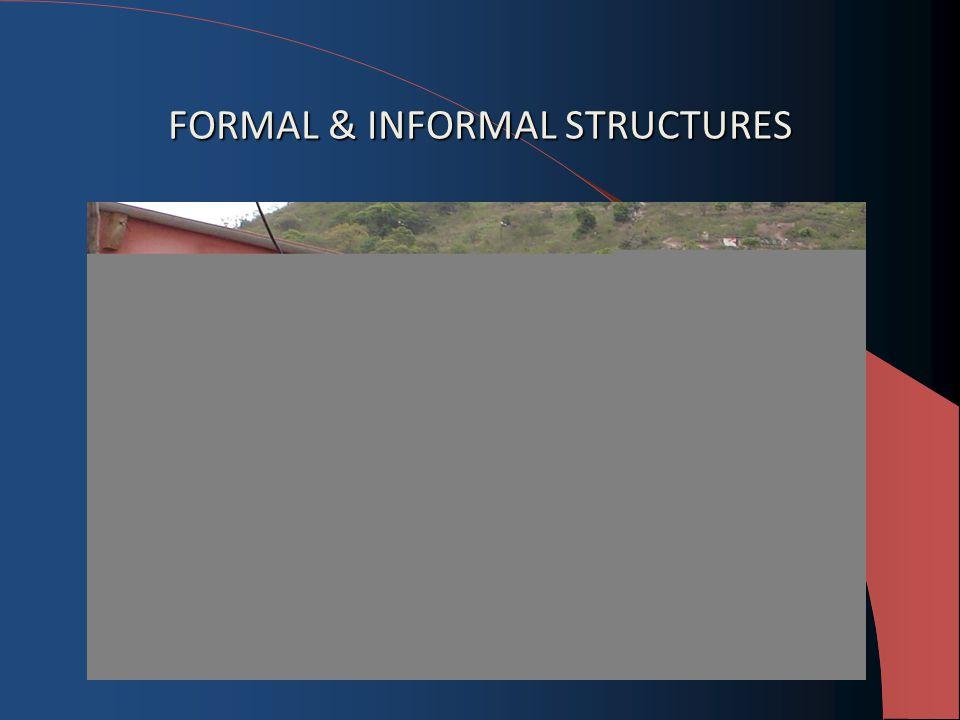 FORMAL & INFORMAL STRUCTURES