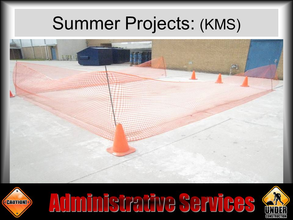 Summer Projects: (KMS)