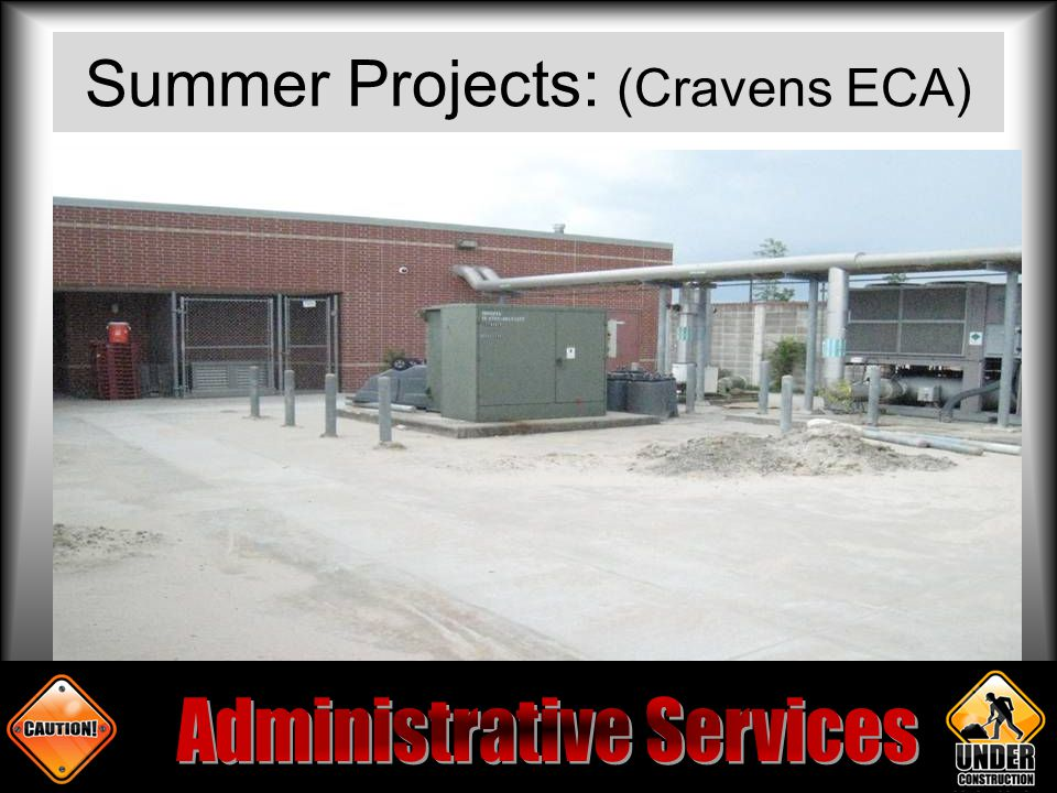 Summer Projects: (Cravens ECA)