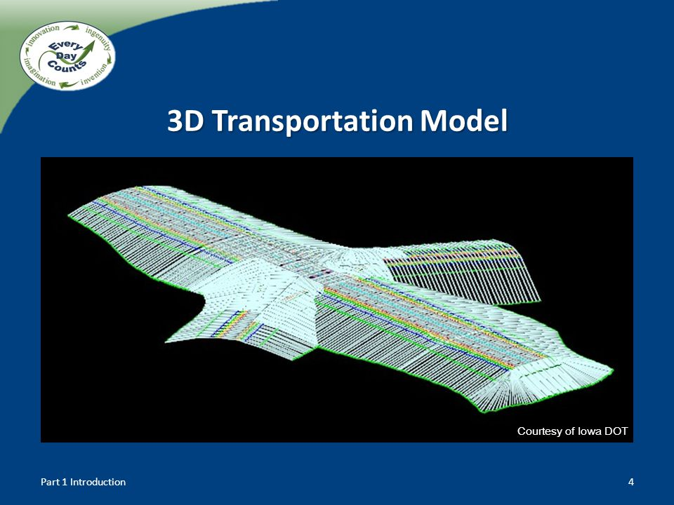 4 Courtesy of Iowa DOT 3D Transportation Model