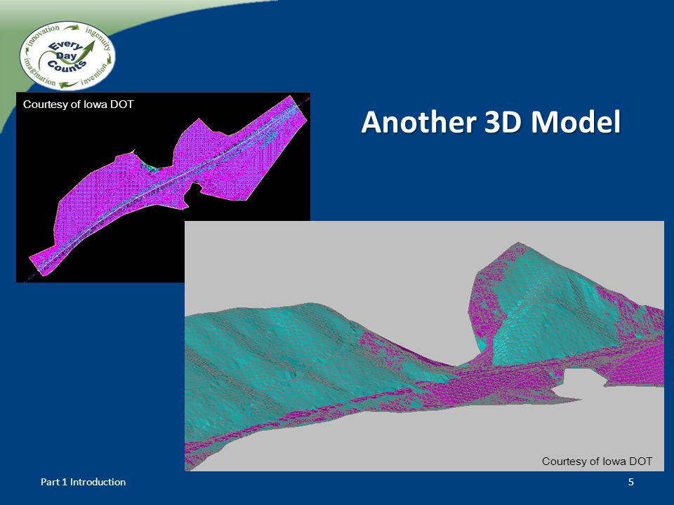 Part 1 Introduction5 Another 3D Model Courtesy of Iowa DOT