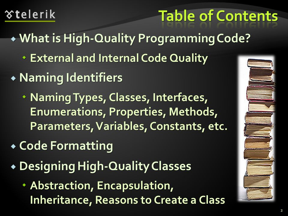 What is High-Quality Programming Code? What is High-Quality Programming Code? External and Internal Code Quality External and Internal Code Quality Na