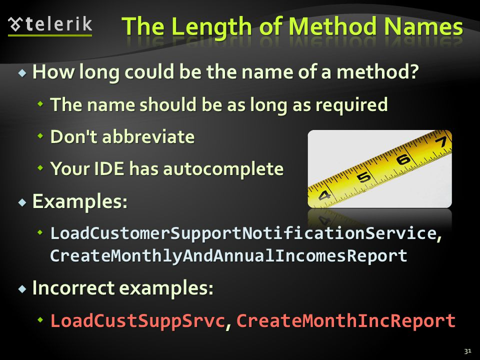 How long could be the name of a method.How long could be the name of a method.
