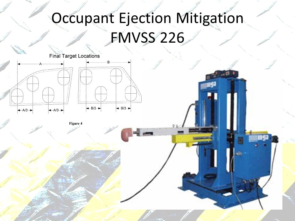 Occupant Ejection Mitigation FMVSS 226