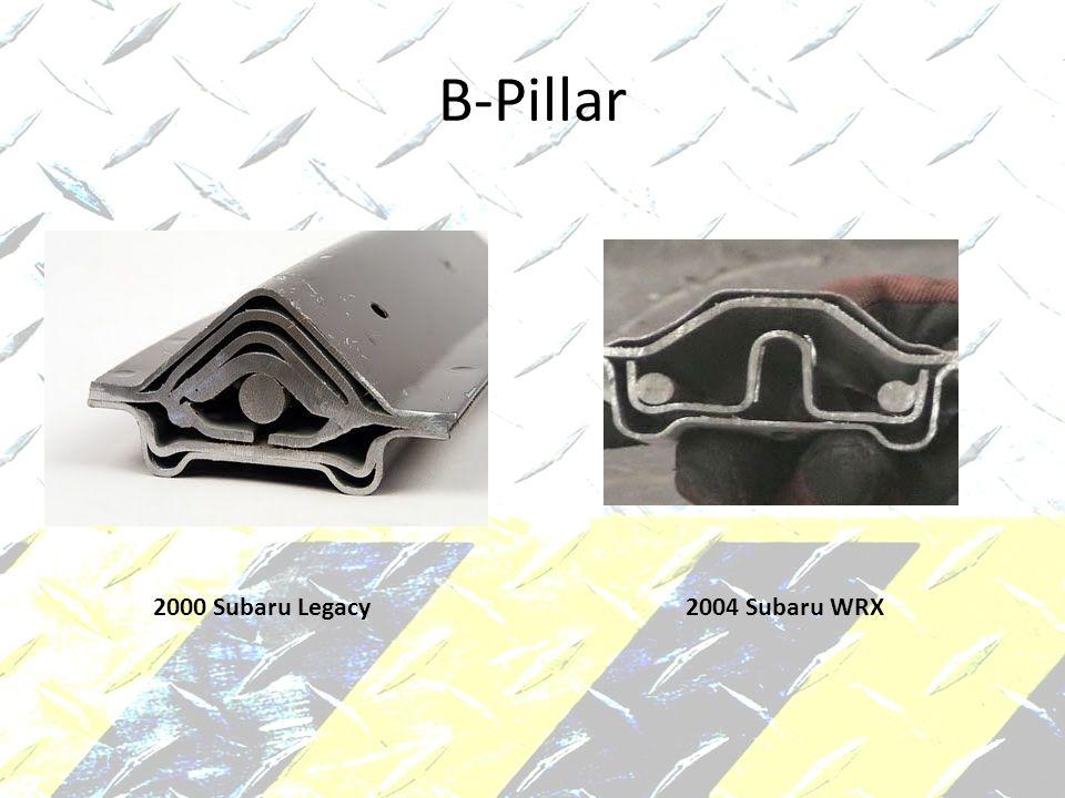 B-Pillar 2000 Subaru Legacy2004 Subaru WRX