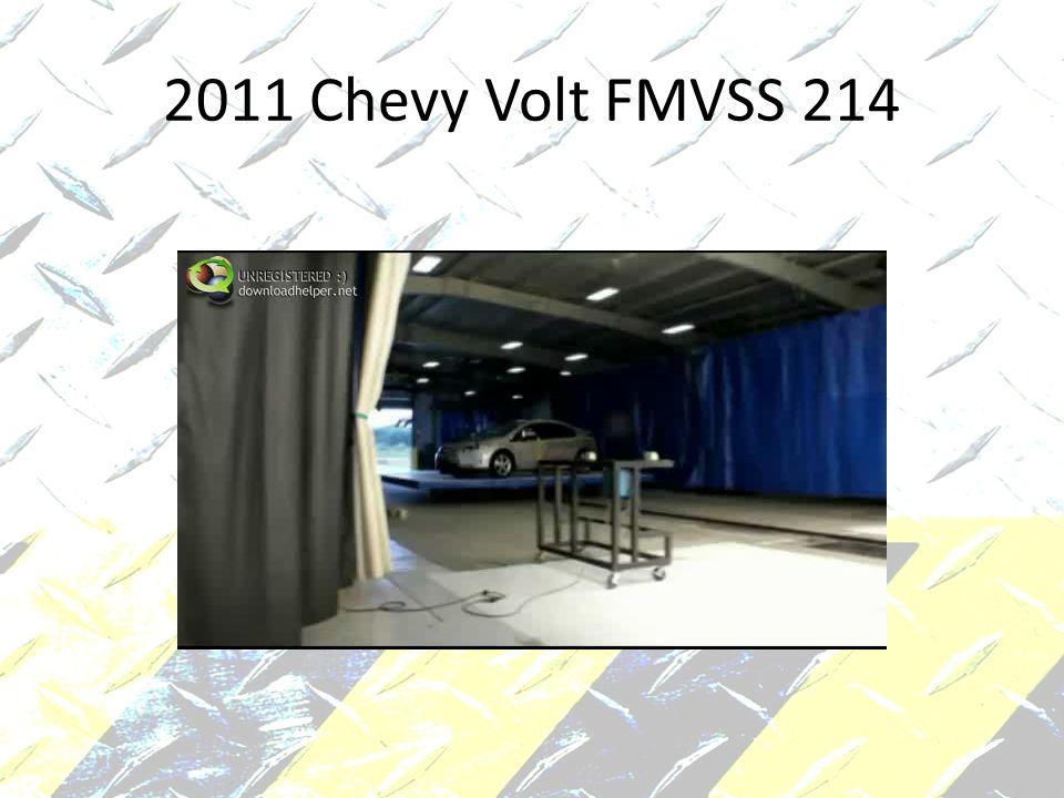 2011 Chevy Volt FMVSS 214