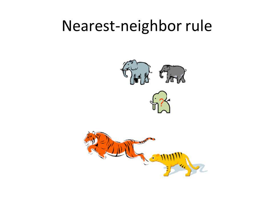 Nearest-neighbor rule