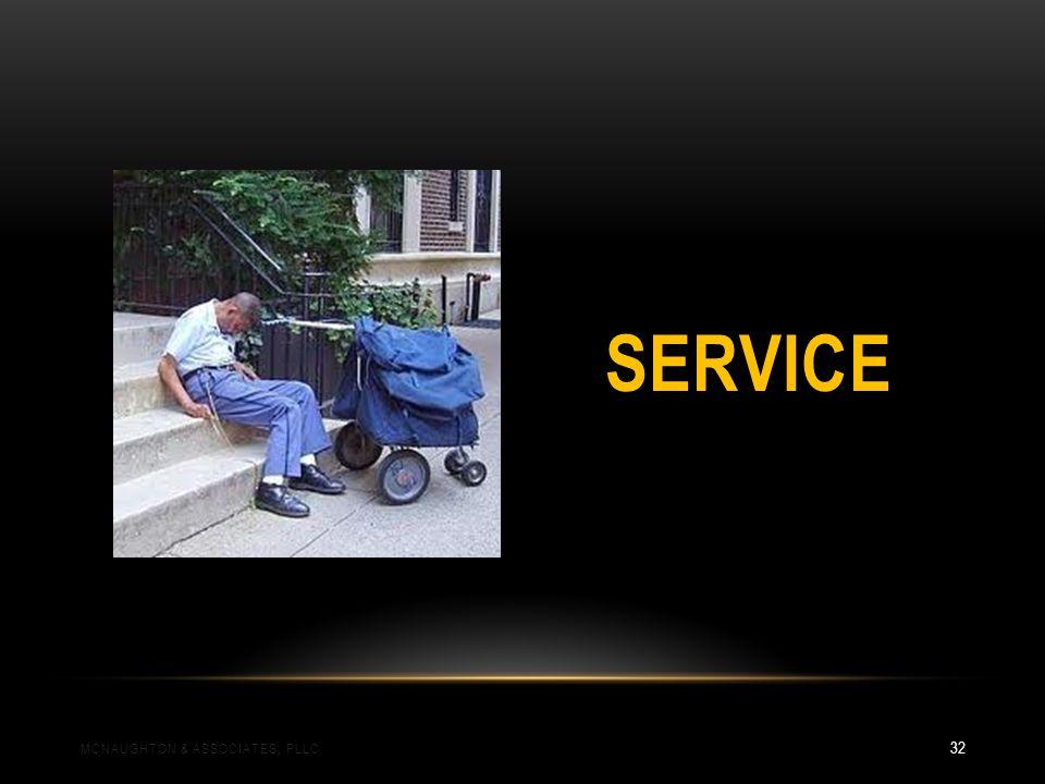 SERVICE MCNAUGHTON & ASSOCIATES, PLLC 32
