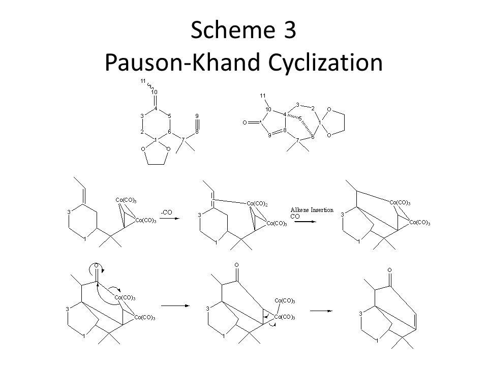 Scheme 3 Pauson-Khand Cyclization