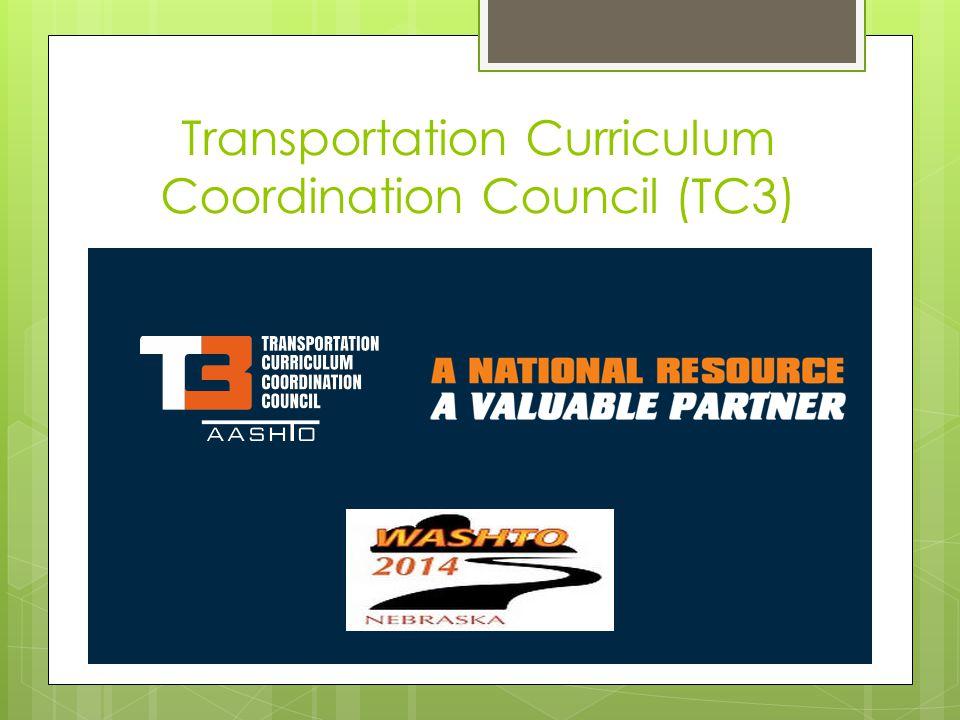Transportation Curriculum Coordination Council (TC3)