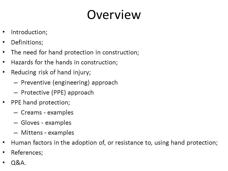 Chemical Protection Gloves (OSHA, 2003) Natural (latex) rubber: 1.Comfortable to wear; 2.High tensile strength, elasticity; 3.Temperature resistant; 4.Abrasion resistant; 5.Protect against most water solutions of acids, alkalis, salts and ketones.