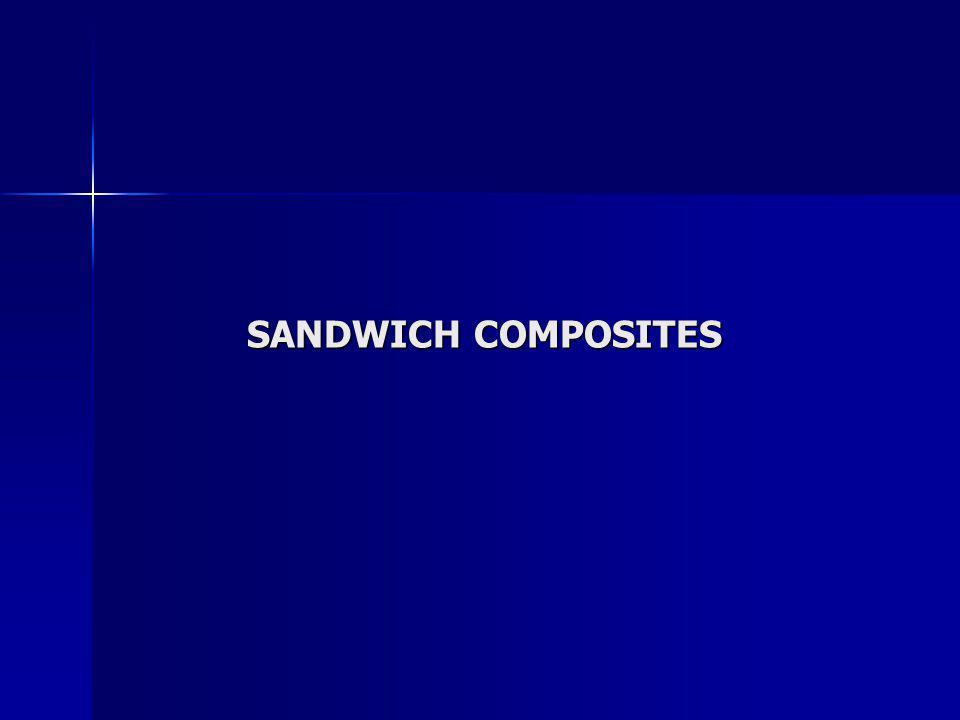 SANDWICH COMPOSITES