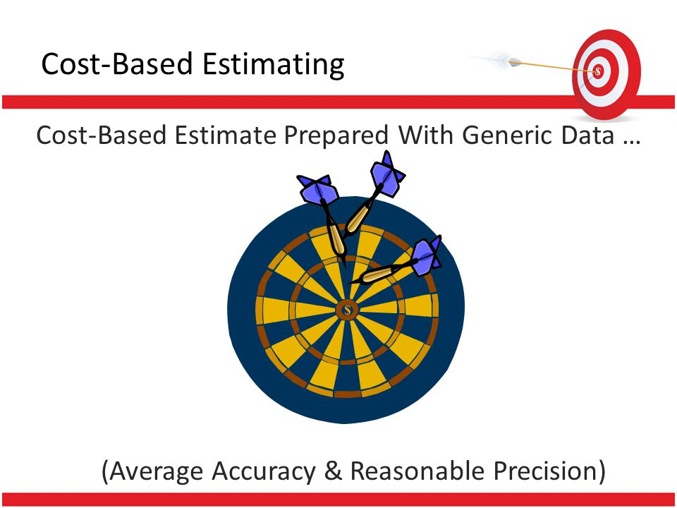 Cost-Based Estimate Prepared With Generic Data … (Average Accuracy & Reasonable Precision) Cost-Based Estimating