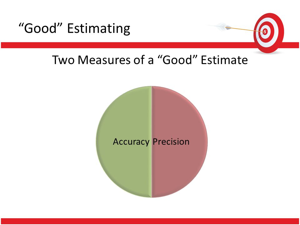 How Close to a Fair and Reasonable Value Estimating Accuracy