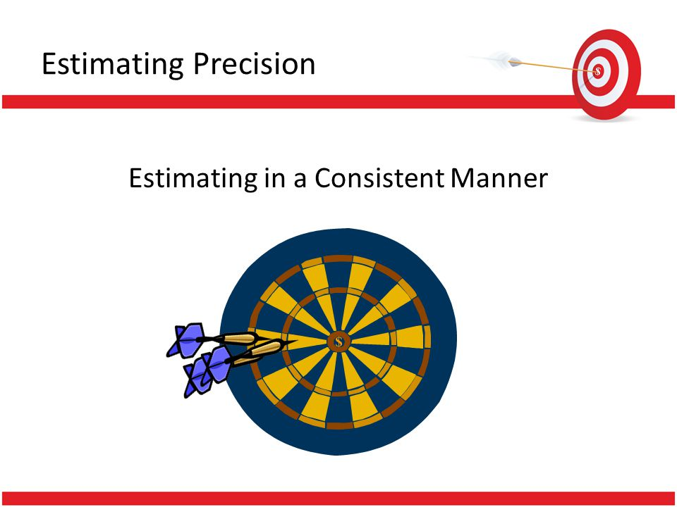 Estimating in a Consistent Manner Estimating Precision