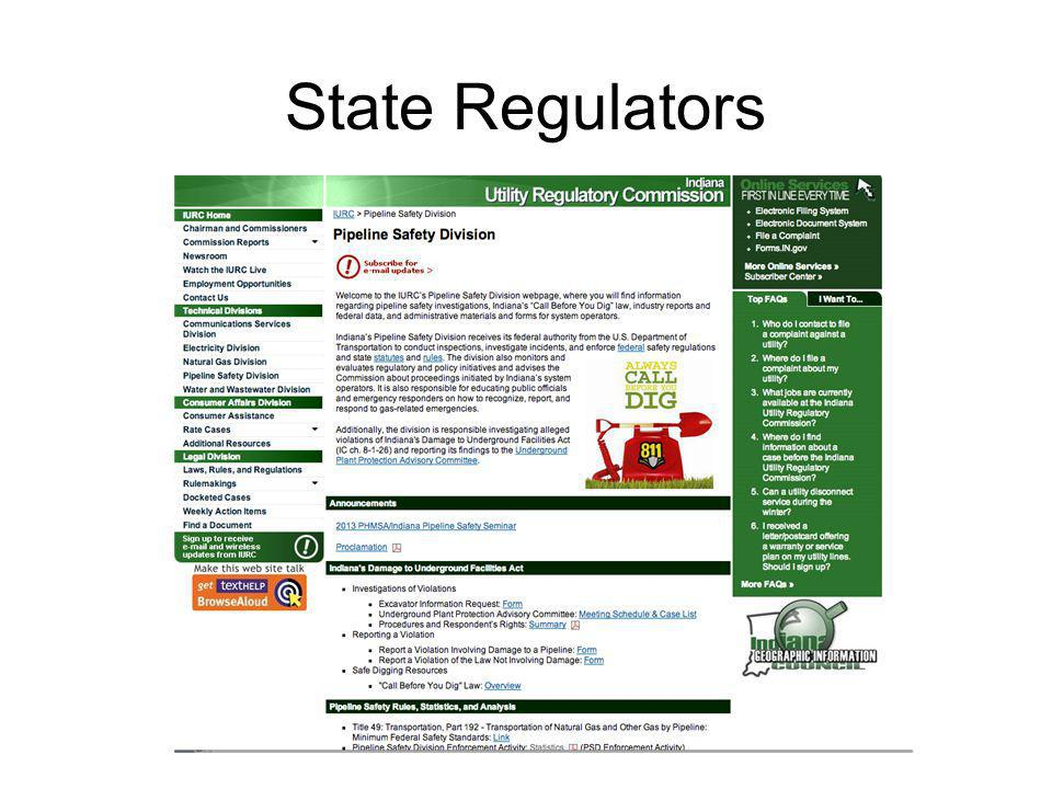 State Regulators