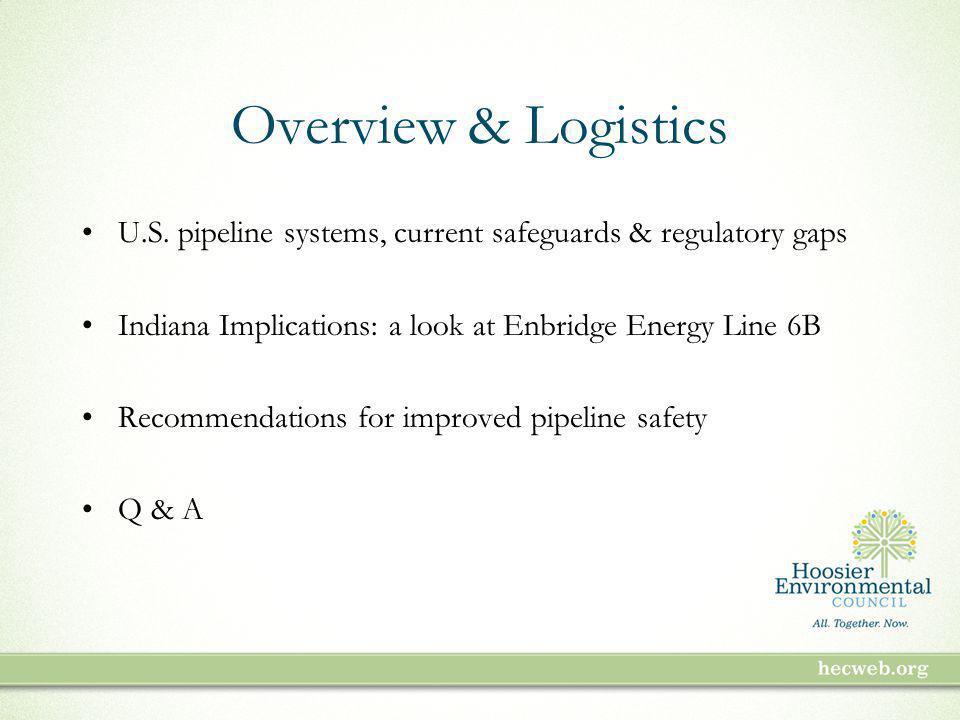 Overview & Logistics U.S.