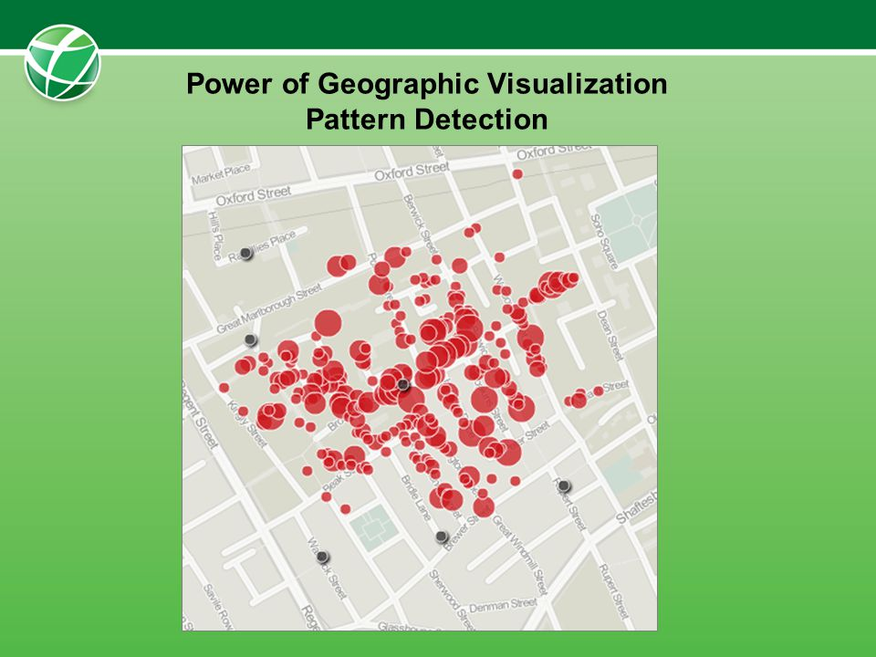 Power of Geographic Visualization Pattern Detection