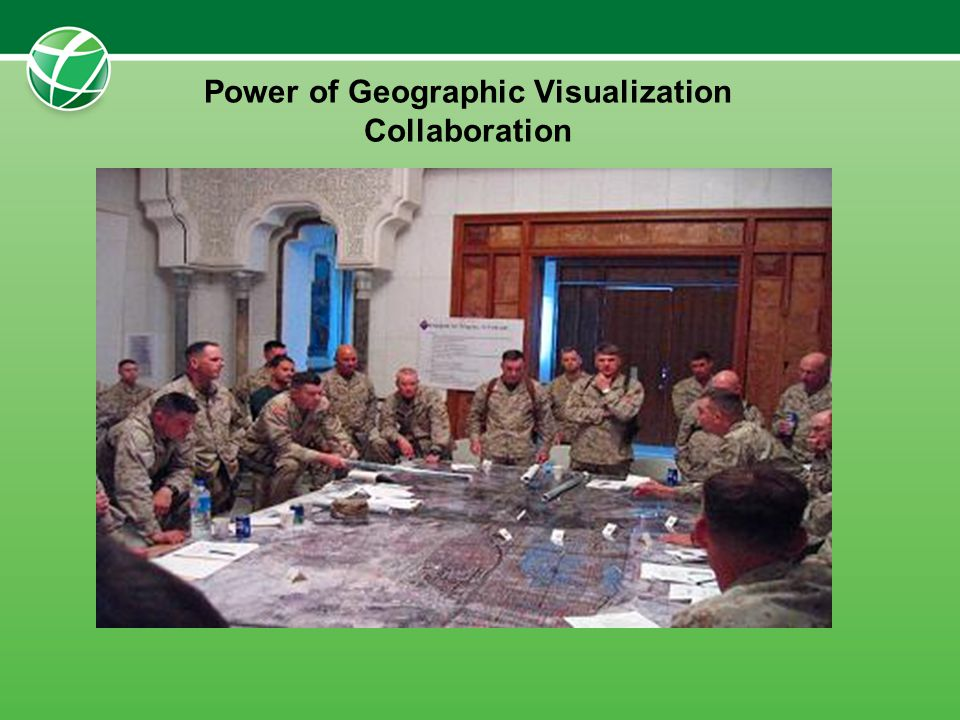Power of Geographic Visualization Collaboration
