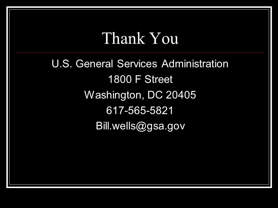 Thank You U.S.
