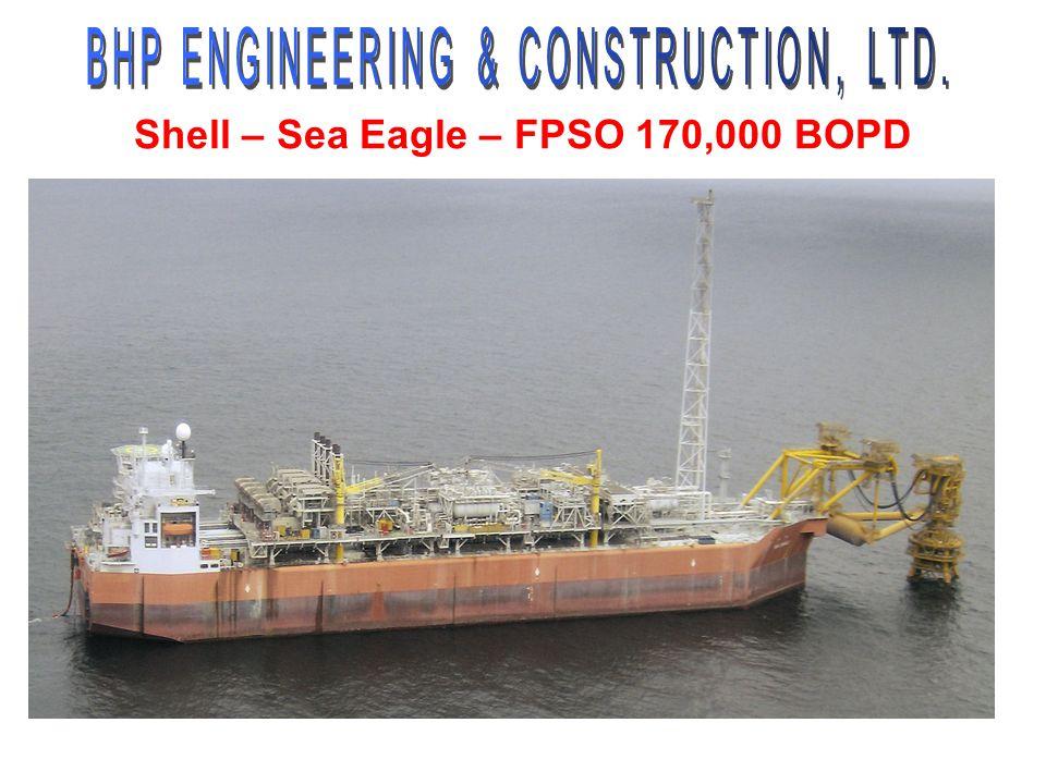 Shell – Sea Eagle – FPSO 170,000 BOPD