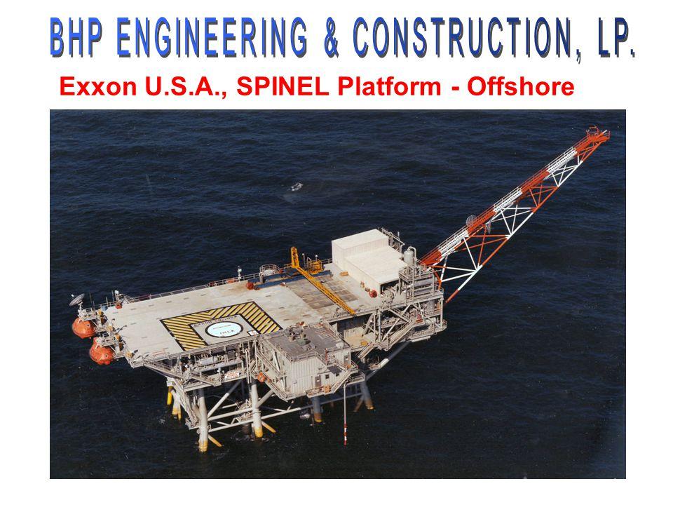 Exxon U.S.A., SPINEL Platform - Offshore