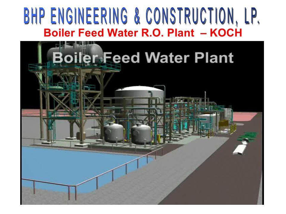 Boiler Feed Water R.O. Plant – KOCH