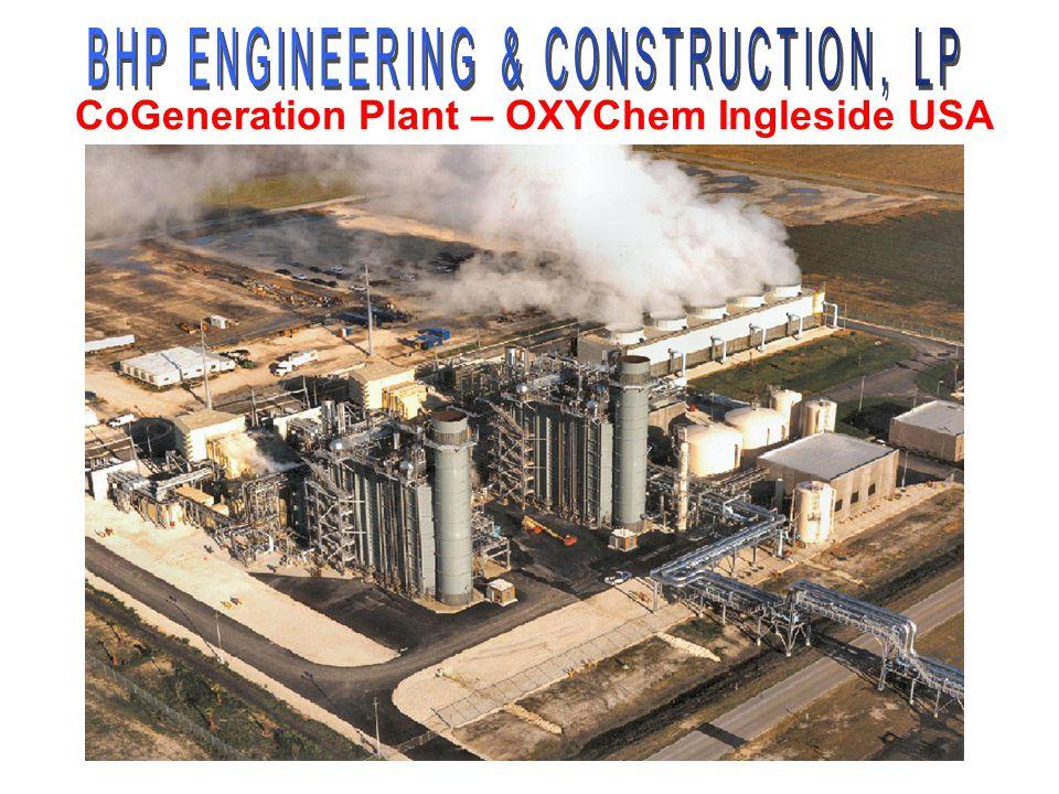 CoGeneration Plant – OXYChem Ingleside USA