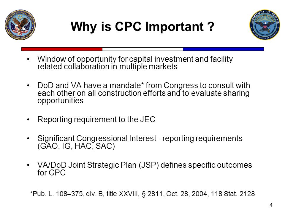 4 Why is CPC Important .