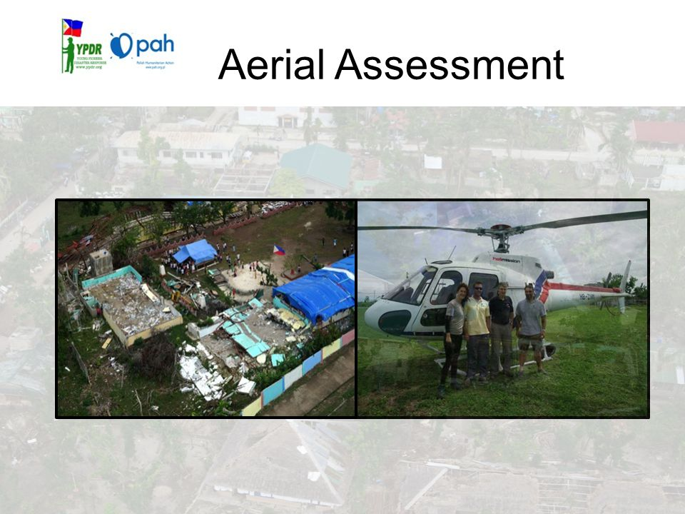 Aerial Assessment