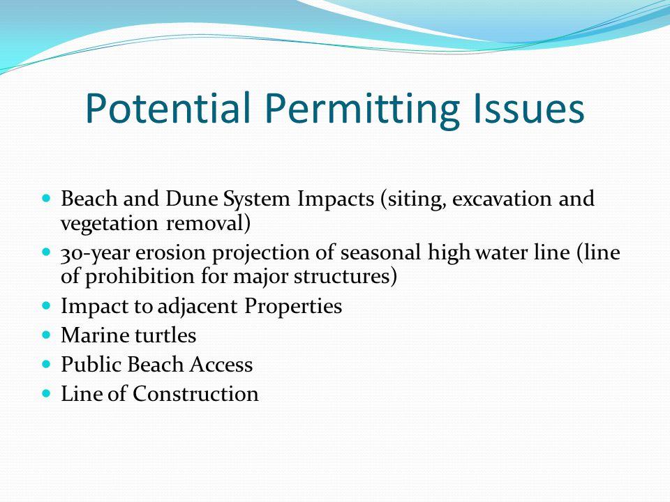 Coastal Construction Control Line (CCCL) Coastal Construction Setback Line/Line of Construction GP Line 30-Year Erosion Projection (per 62B-33, FAC) 3