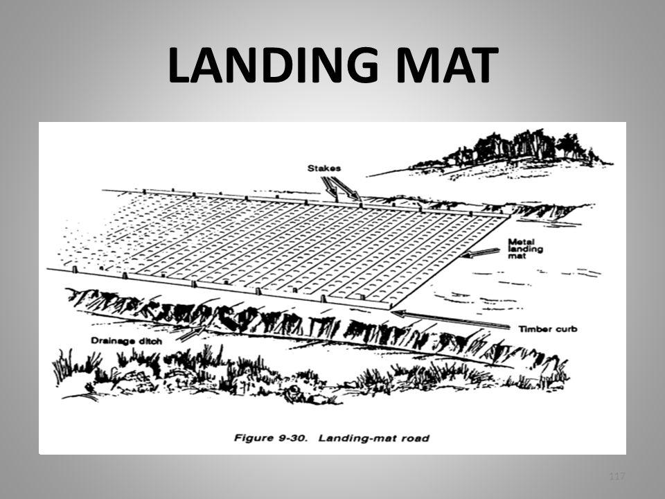 LANDING MAT 117