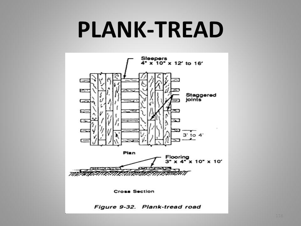 PLANK-TREAD 118